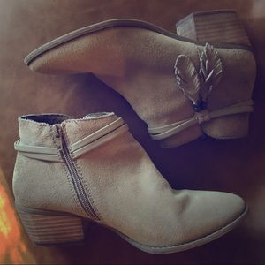 Sueded Leather American Eagle Outfitters Booties